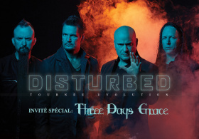 Disturbed - Tournée Mondiale Evolution
