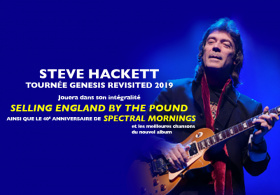 STEVE HACKETT  'SELLING ENGLAND BY THE POUND + SPECTRAL MORNINGS