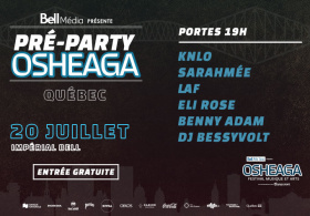 Pré-Party Osheaga Officiel