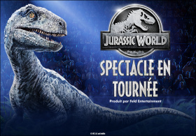 Jurassic World Spectacle en tournée
